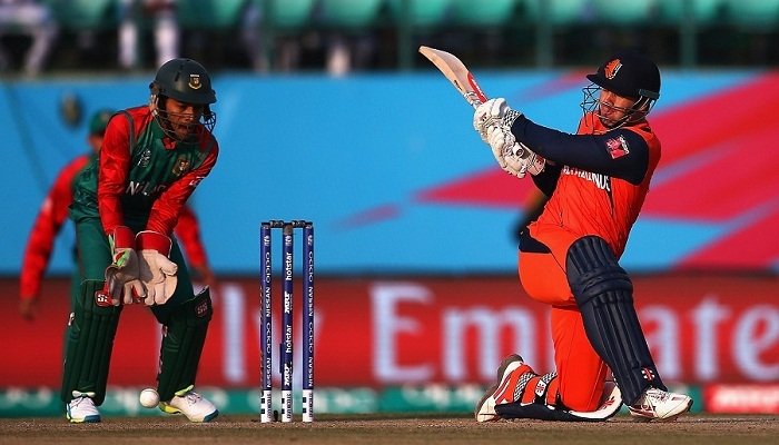 Bangladesh beat Netherlands by 8 runs