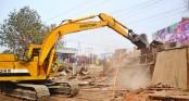 2000 illegal establishments demolished at Uttara