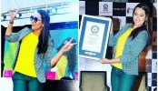 Sonakshi enters Guinness World Record for nail painting
