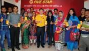 Raffle draw winners of DITF-2016 CP FIVE STAR awarded