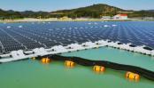Brazil uses dammed lake surface for floating solar panels
