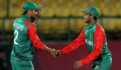 Bangladesh joins super 10, beating Oman by 54 runs