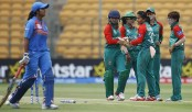 Bangladesh women start slow in chase of 164