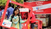 Day-long promotional campaign of surfing held in DU