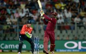 Gayle storm wipes out England