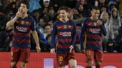 Champions League: Barcelona trio knock Arsenal out to reach quarter-finals