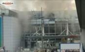 Brussels Airport cancels flights, evacuates passengers, raises terror threat to highest level