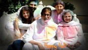 Happy Holi: Amitabh Bachchan shares colourful family picture