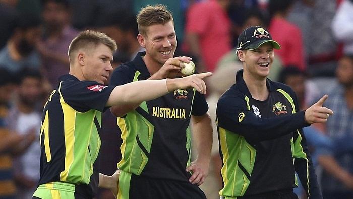Australia win, knock Pakistan out of World T20