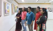 5-day art exhibition 'Colours of friendship' begins