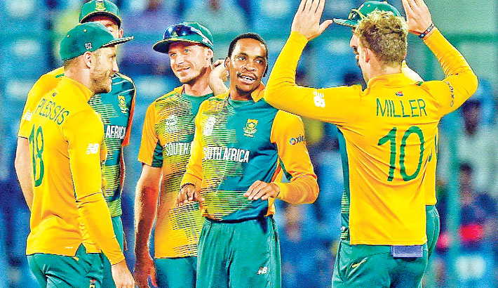 Proteas end campaign on a winning note
