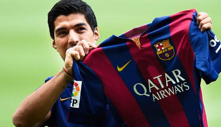 Suarez fee revealed by Barca