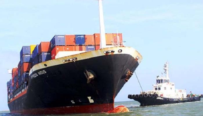Indian ship starts journey towards Bangladesh