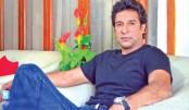 Wasim interrupted on live TV show in Mumbai