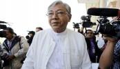 Myanmar swears in first elected civilian president