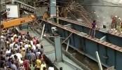 India Kolkata flyover collapse: Dozens remain trapped