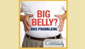 Pot belly ups heart failure risk