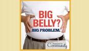 Pot belly ups heart failure risk