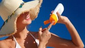 Getting a tan? Don't forget the sunscreen!