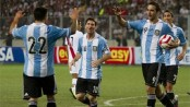 Argentina knock Belgium from top of FIFA rankings