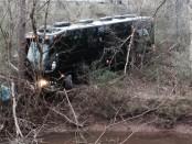 Bus veers off mountain road killing 13, leaving 26 hurt