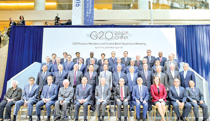 G20 embraces crackdown on tax havens, warns over 'Brexit'