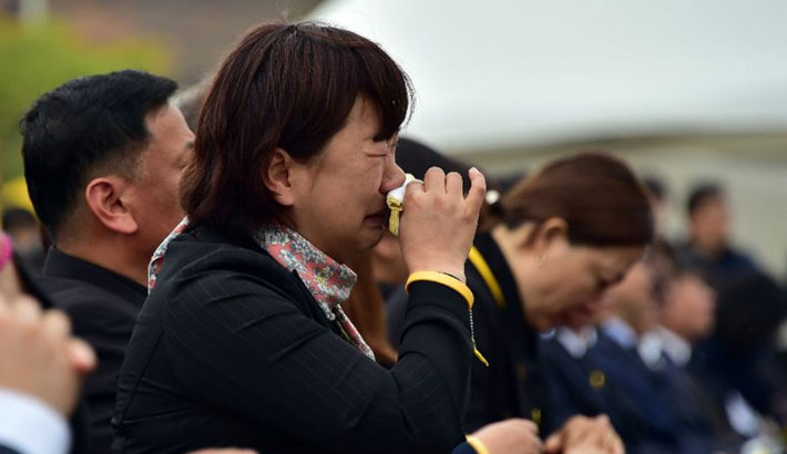 Two years after ferry tragedy, grieving relatives await salvage