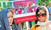 Creating social awareness against acid violence