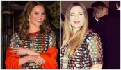 Drew Barrymore, Kate Middleton wear same gown on same day