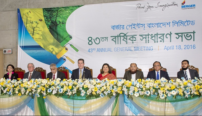 Berger Paints' 43rd AGM held