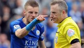 Leicester's Vardy charged by Football Association over dismissal