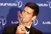 Djokovic, Serena Williams win Laureus top athletes awards
