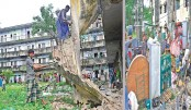Vulnerable building in Sylhet demolished
