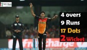 Mustafizur, Warner lead SRH to emphatic win