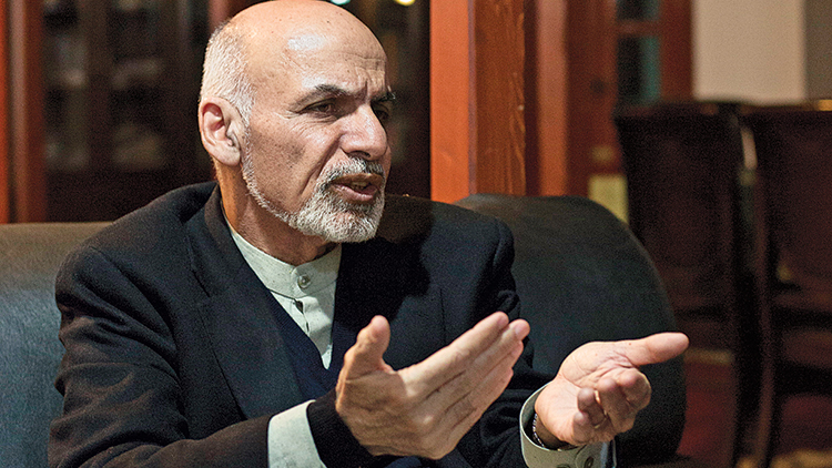 Afghan president calls on Pakistan to battle Taliban