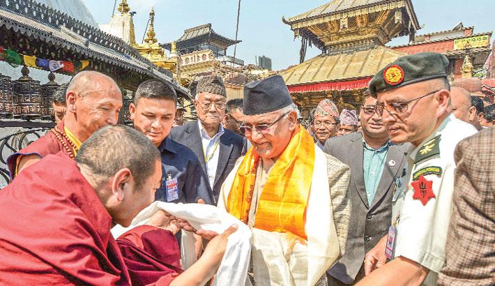 Nepal marks quake anniv with prayers and tears