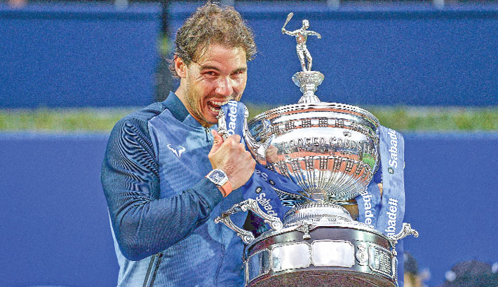 Nadal bags ninth Barcelona title