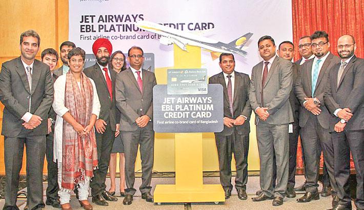 EBL, Jet Airways launch Visa powered air credit card