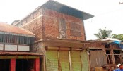 A local influential man has built concrete structures occupying government land
