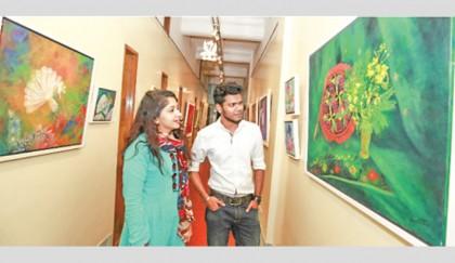 Baishakh and Reinterpretation of Indigenous Art concludes