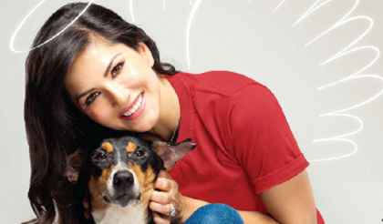 Adopt, don't buy pets; says 'angel' Sunny Leone