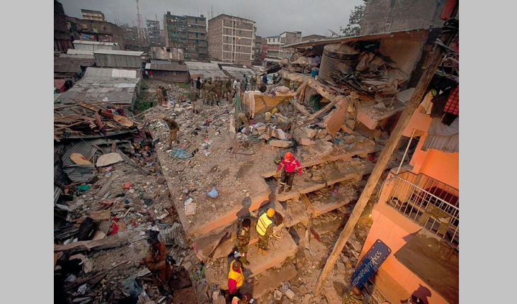 10 dead in building collapse in Kenyan capital: Police