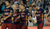 Barca beat Betis to remain top