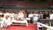 Khaleda addressing May Day rally at Suhrawardy Udyan