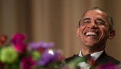 For Obama's final correspondents' dinner, the obvious targets: Trump, Cruz and himself