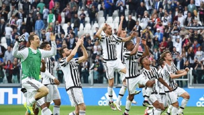 Juventus celebrates Serie A title with 2-0 win over Carpi