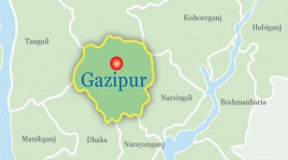 Garment workers protest against factory closure in Gazipur
