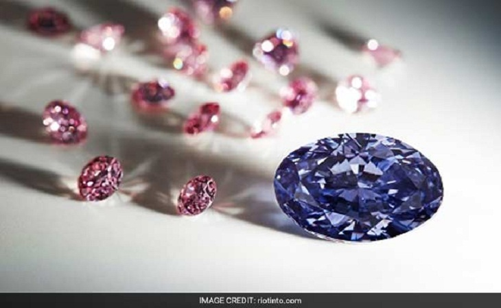 'Impossibly rare' violet diamond found in Australia