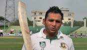 Tushar Imran fined for showing dissent at umpire's decision