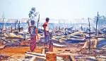 Blaze destroys hundreds of homes in Myanmar